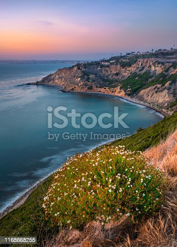 View of a bay in Los Angles County, CA, USA
