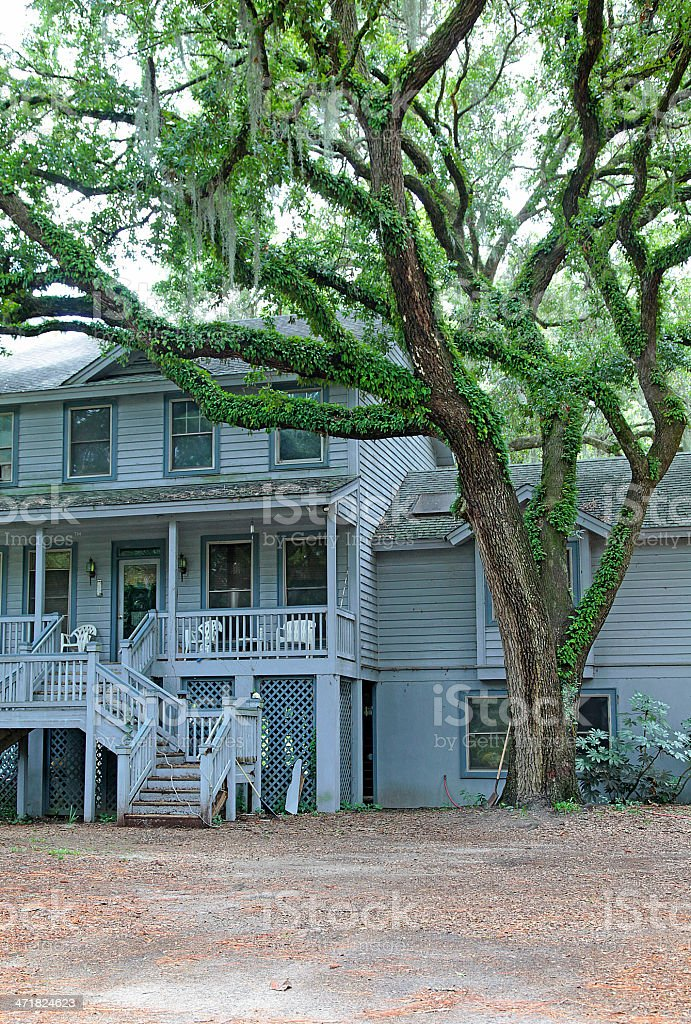 Bluffton Home royalty-free stock photo