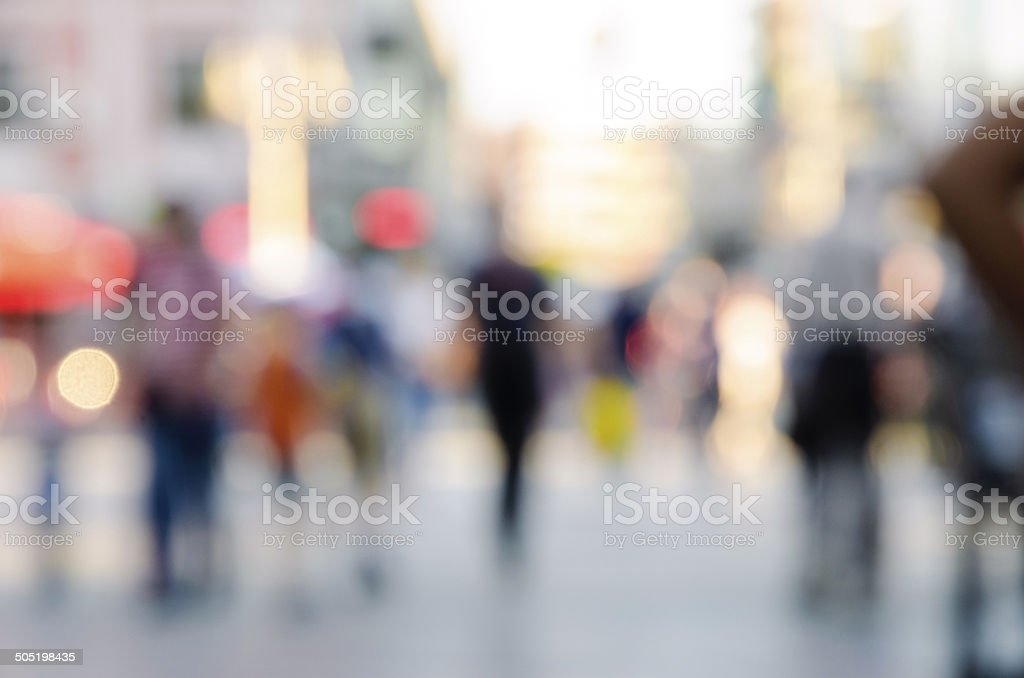 blur abstract people background stock photo