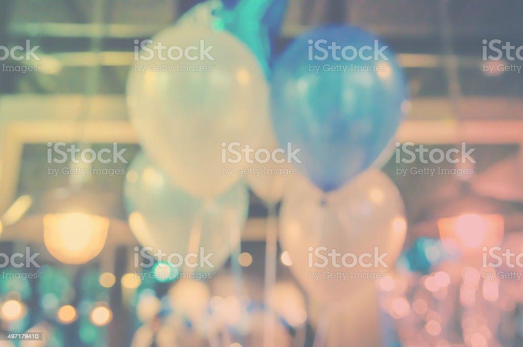 Blur Ballons in die party – Foto