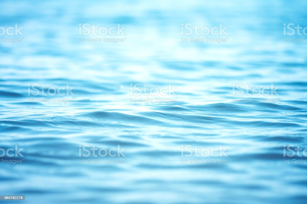 Blur beautiful shiny sparkling  tropical blue sea beach , the fresh summer background . royalty-free stock photo