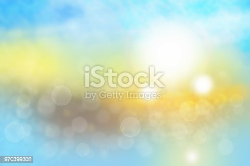 istock Blur bright  abstract Bokeh, colorful gradient defocused and pastel colored. Beautiful texture. Template for your product display montage. 970399302