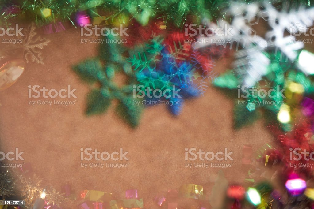 blur Christmas wallpaper and everything for Christmas celebration and artwork design stock photo