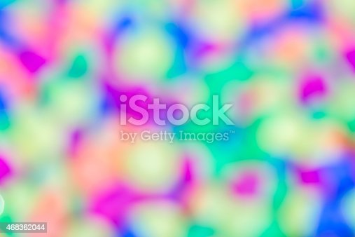 Blur Colorful Plastic Eggs Toys Stock Photo & More Pictures of 2015