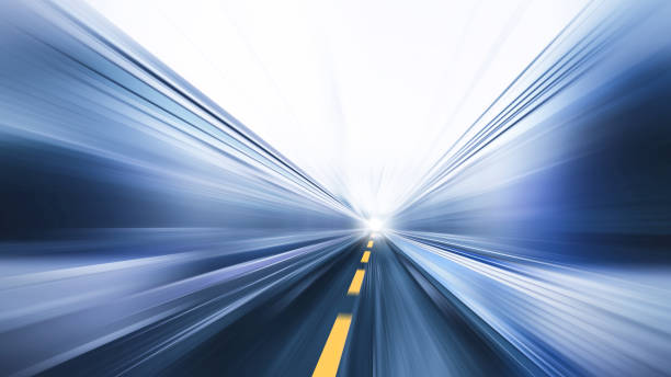 blur fast moving high speed road business perform concept blur fast moving high speed road business perform concept zoom effect stock pictures, royalty-free photos & images