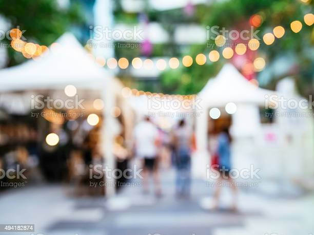 Blur festival events market outdoor with people picture id494182874?b=1&k=6&m=494182874&s=612x612&h=9pjou2winsoeazwfaj5ciocsalv3chatffwbpspt7na=