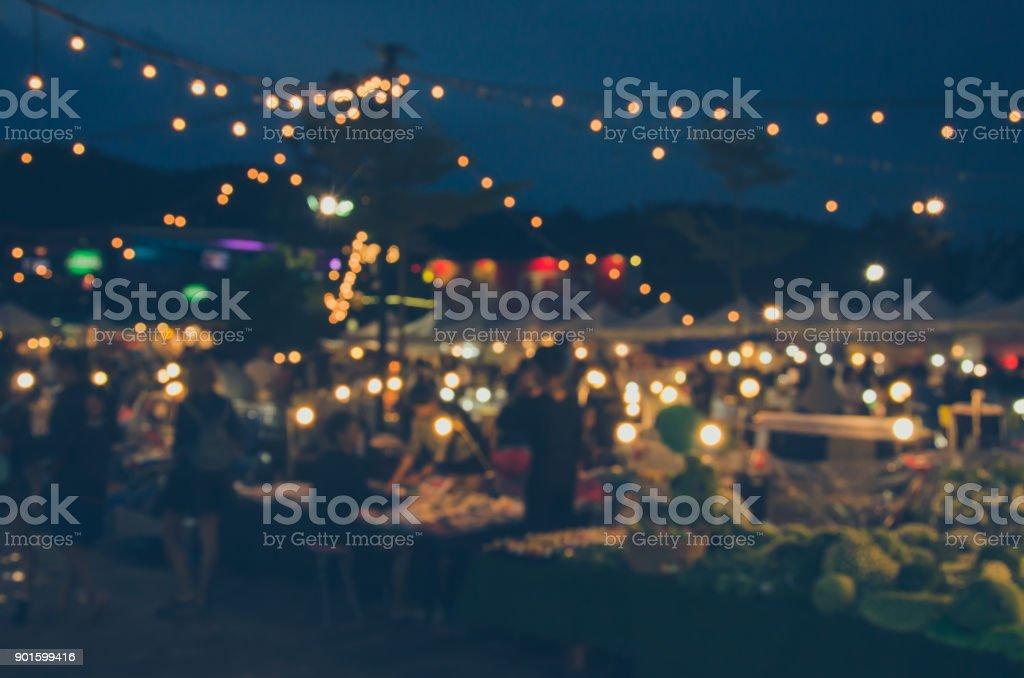 Blur Festival Food stock photo