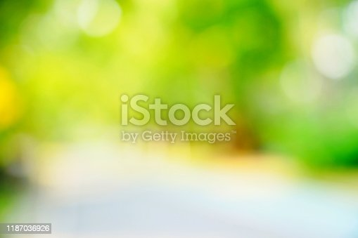 1067054470istockphoto Blur green nature forest landscape background with sunlight 1187036926