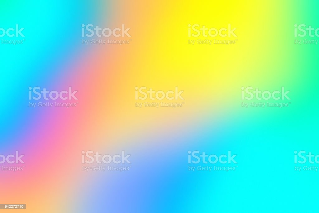 Blur holographic neon background stock photo