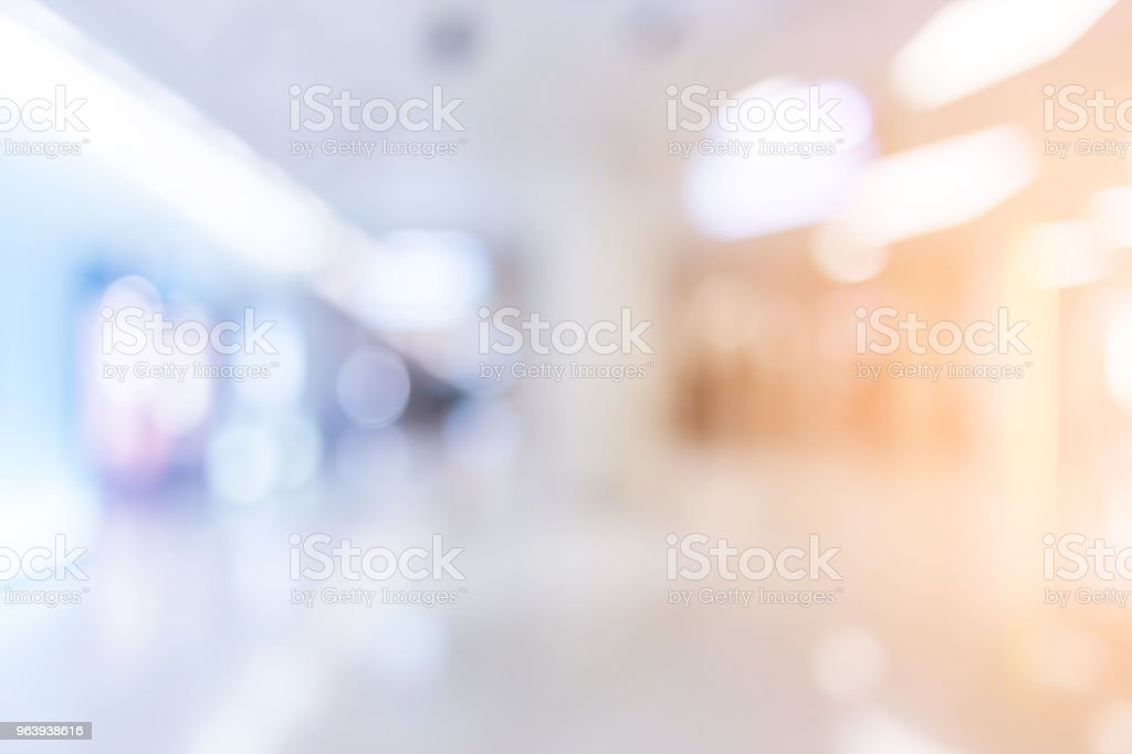 blur image background of library - Royalty-free Architecture Stock Photo