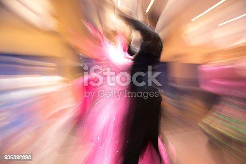 istock Blur image of ballroom dancing 936892898