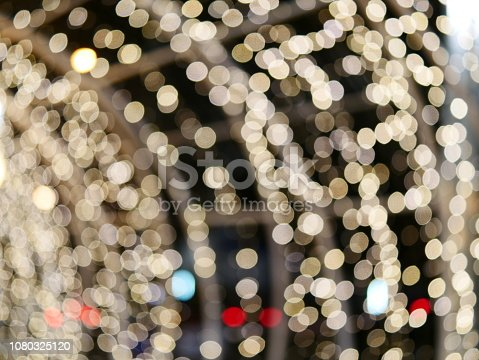 872398892 istock photo Blur lighting in night street cafe 1080325120