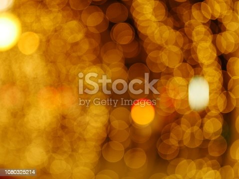 872398892 istock photo Blur lighting in night street cafe 1080325214