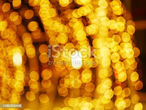 istock Blur lighting in night street cafe 1080325446