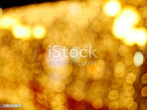 istock Blur lighting in night street cafe 1080325672
