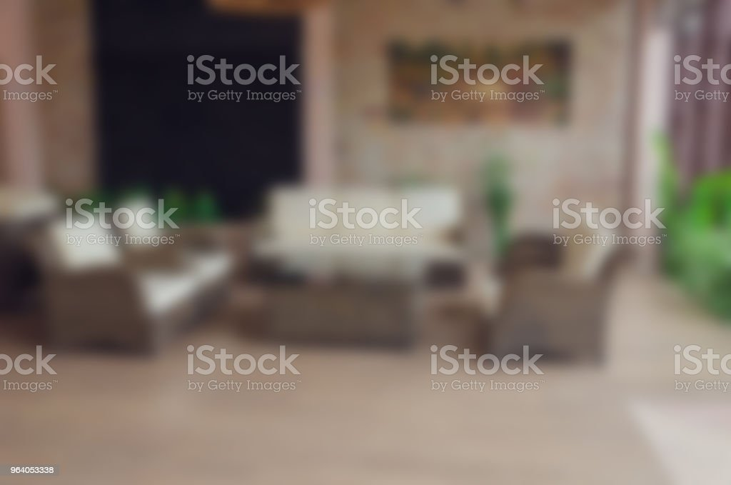 Blur living room - Royalty-free Abstract Stock Photo