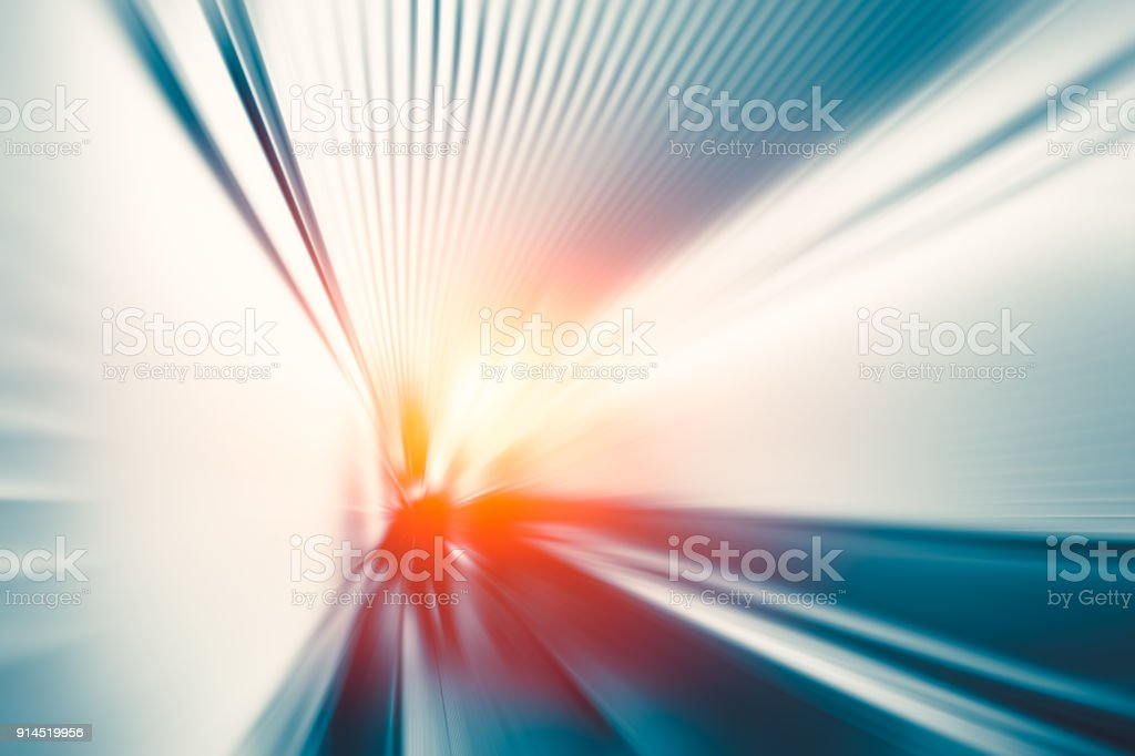 Blur motion fast moving business perform concept abstract for background stock photo