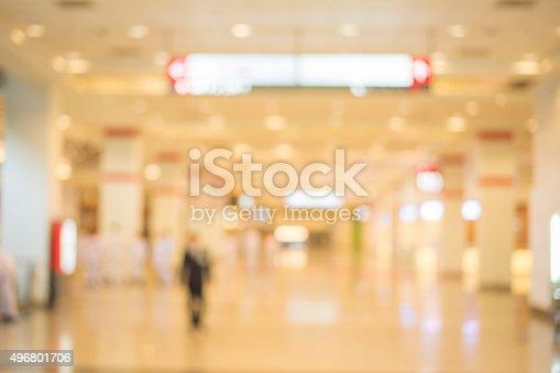 istock blur of hall background 496801706