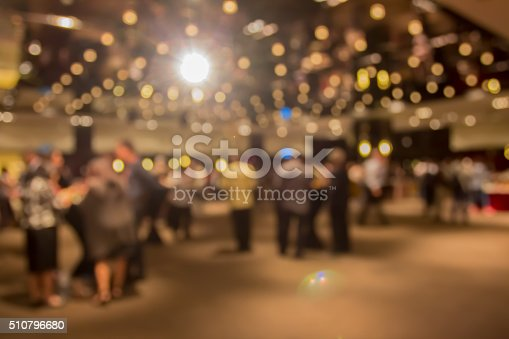 istock blur people at  dinner party in dining room 510796680