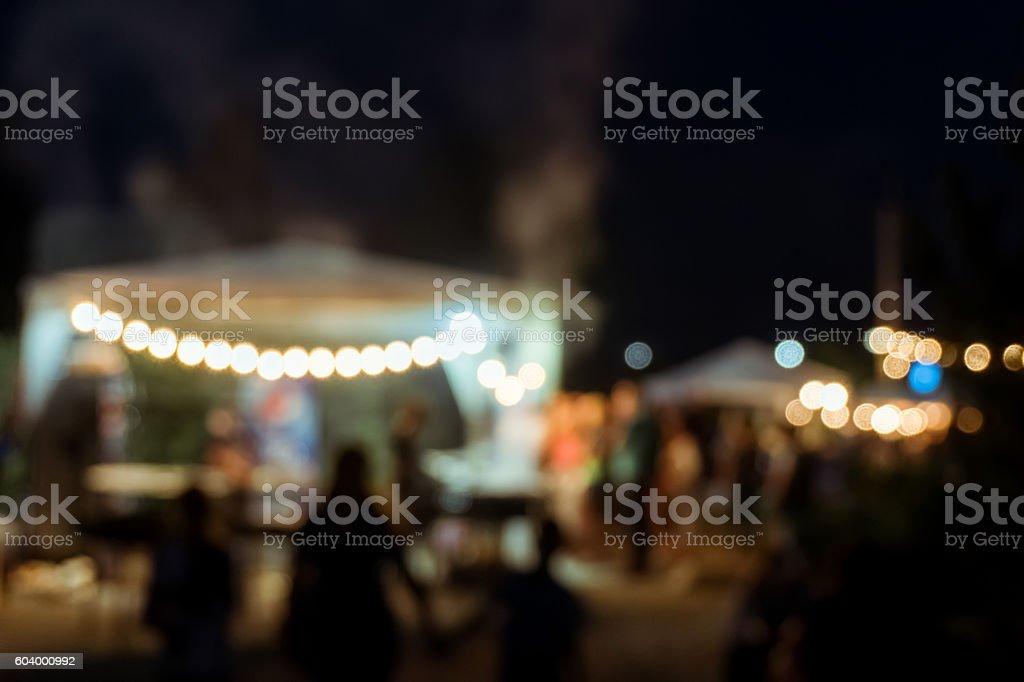 blur people picnic stock photo