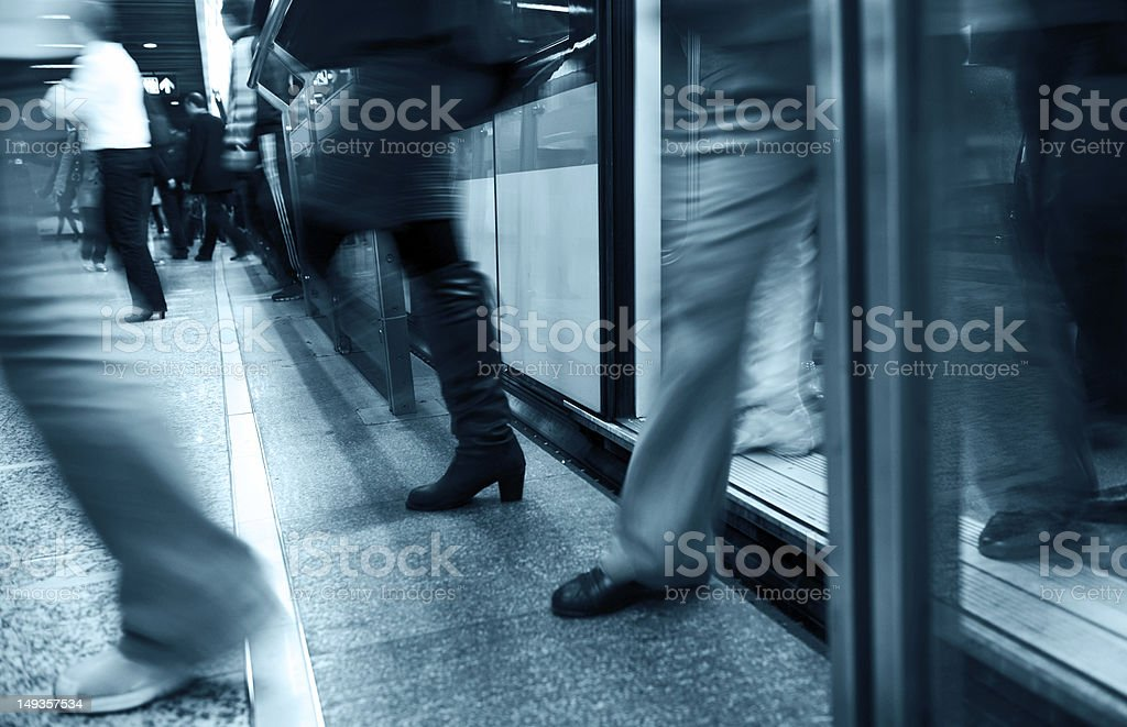 blur people stock photo