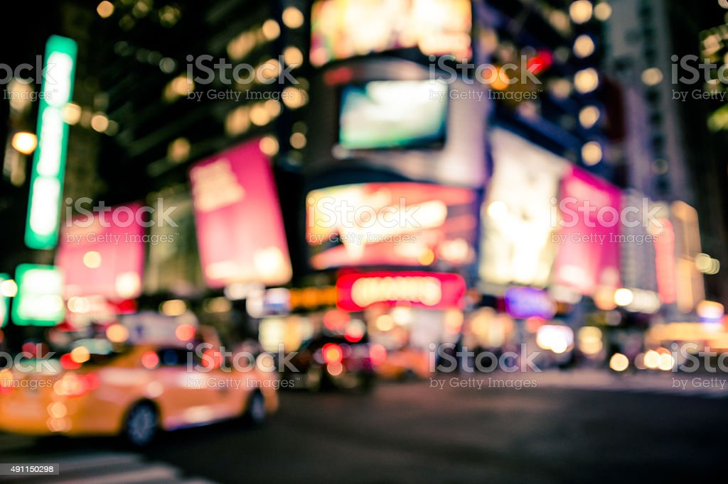 NYC Blur stock photo