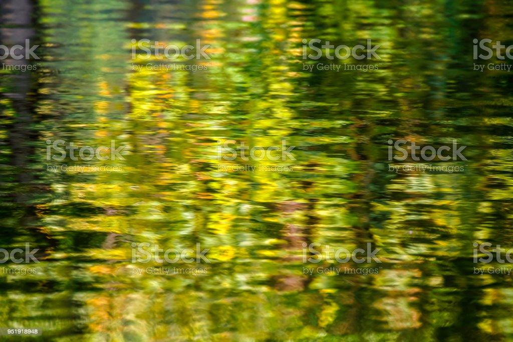 Blur reflection stock photo
