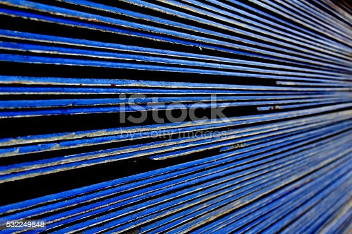 image of blur roof-tile stacking