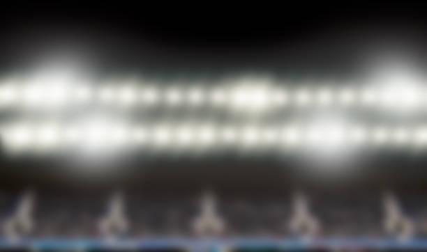 blur stadium arena stock photo