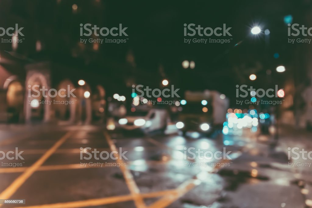 Blur Street background at london, uk