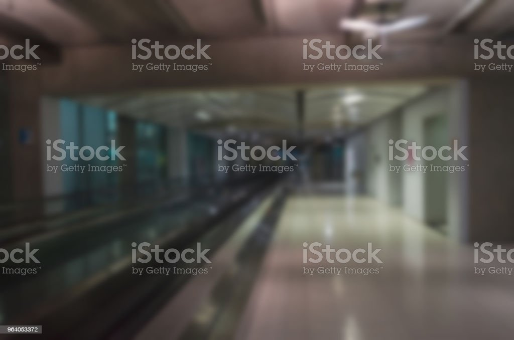 blur the airport - Royalty-free Airplane Stock Photo