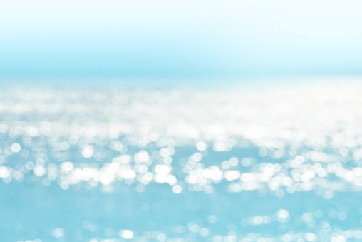 istock Blur tropical sea water bokeh background 871033996