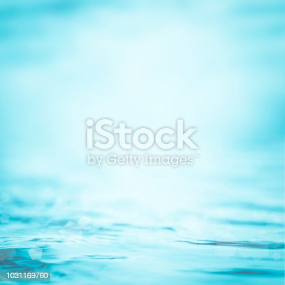istock Blur water background wavy clean fresh water in light cool cyan turquoise blue green vintage color 1031169760