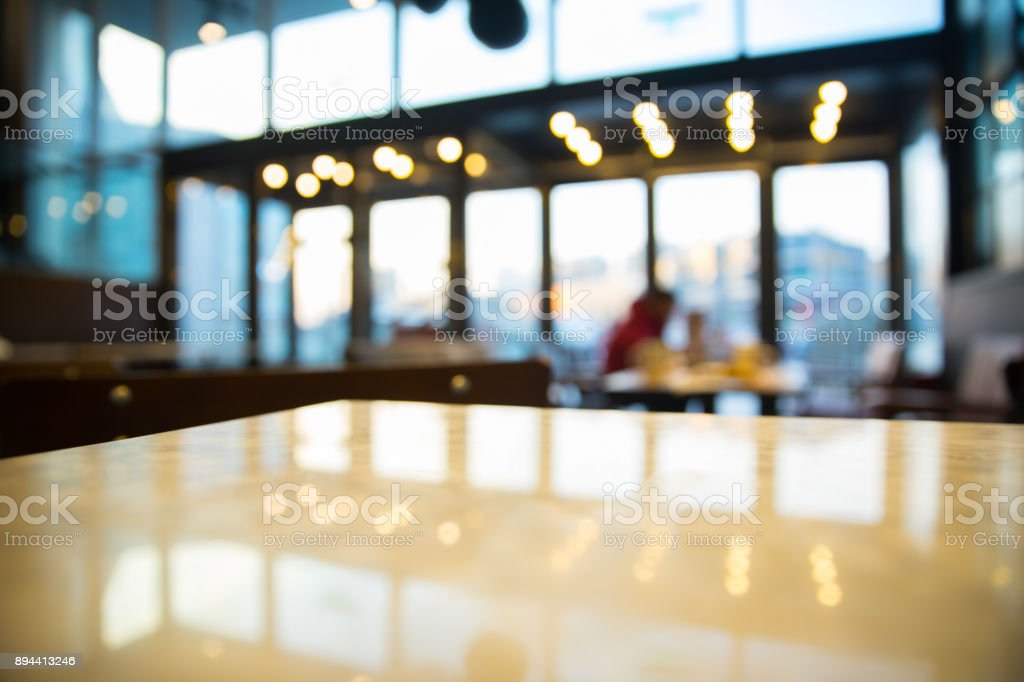 blured cafe stock photo