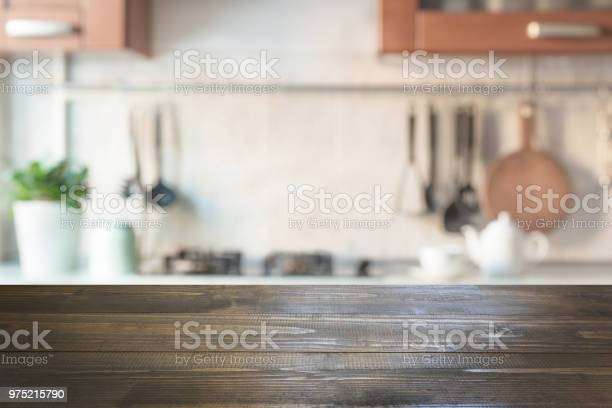 Blurred abstract background modern kitchen with tabletop and space picture id975215790?b=1&k=6&m=975215790&s=612x612&h=yjbxj52k74z4ozp7ue6jfdg3dqp28d1dnwn0u9ccdhi=