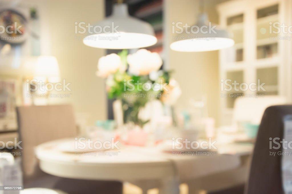 Abstrakten Hintergrund Jedoch Unscharf Moderne Pastell Café ...