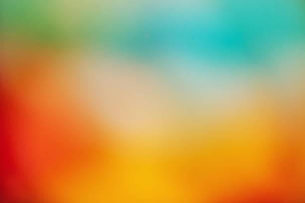 suddig abstrakt bakgrund - blue yellow bildbanksfoton och bilder
