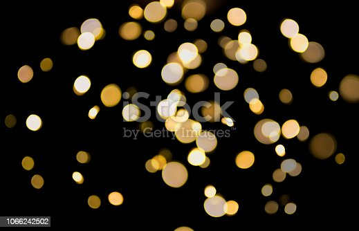 blurred abstract bokeh background with defocused circular lights