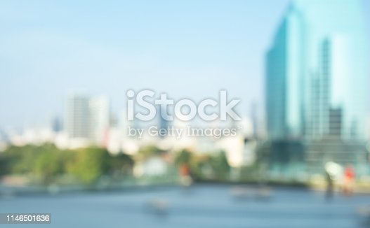 924418868 istock photo Blurred abstract buildingof city town 1146501636