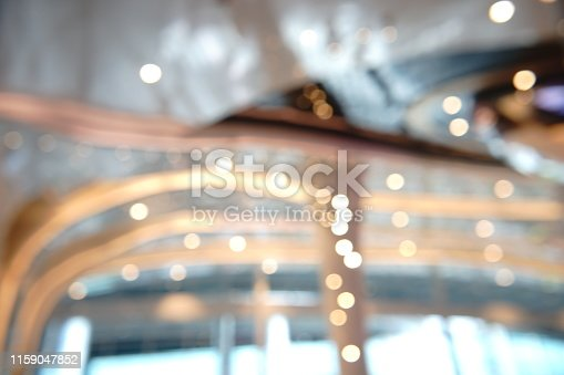 924418868 istock photo Blurred abstract grey glass wall building background 1159047852