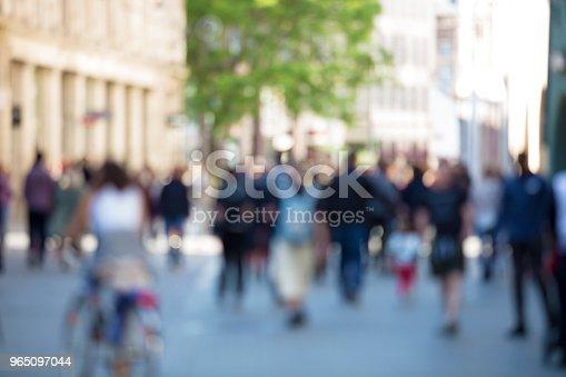 Blurred Abstract People Crowd - Stockowe zdjęcia i więcej obrazów Abstrakcja