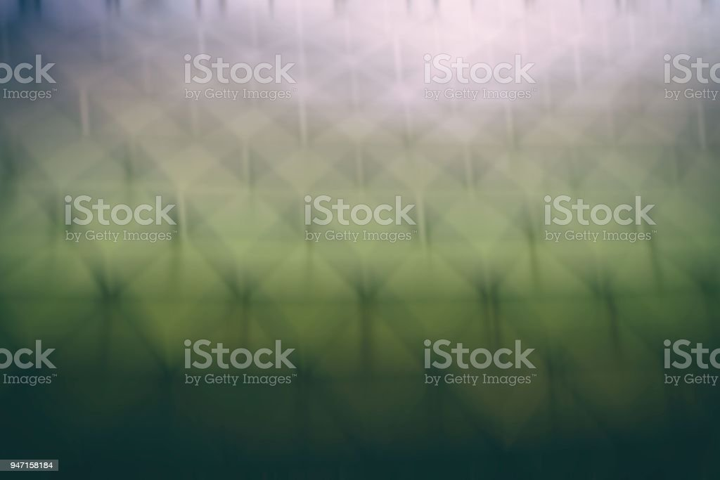 Blurred  Abstract Polygon Architecture Background. stock photo
