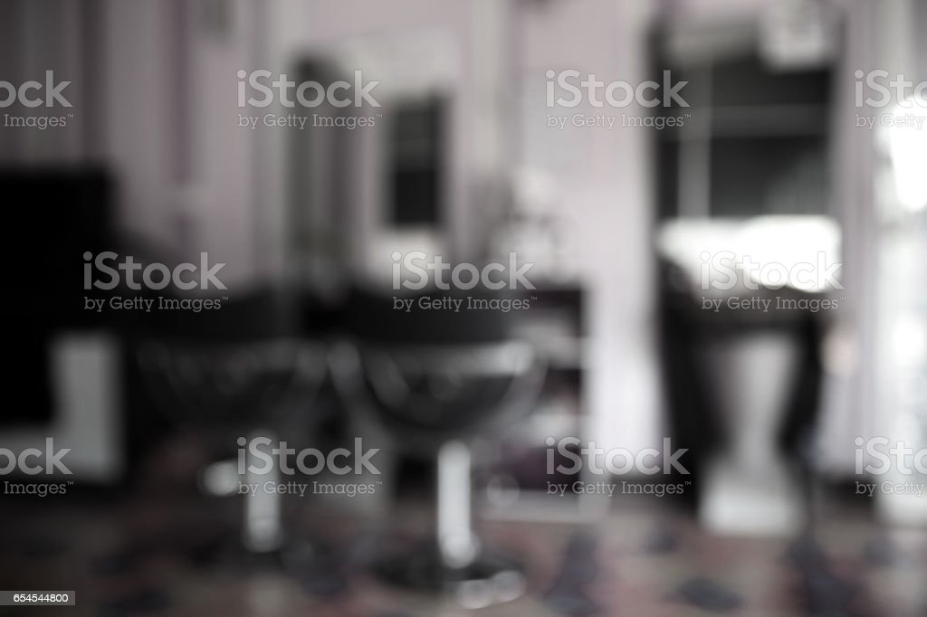 Blurred abstract salon beauty for background usage. stock photo