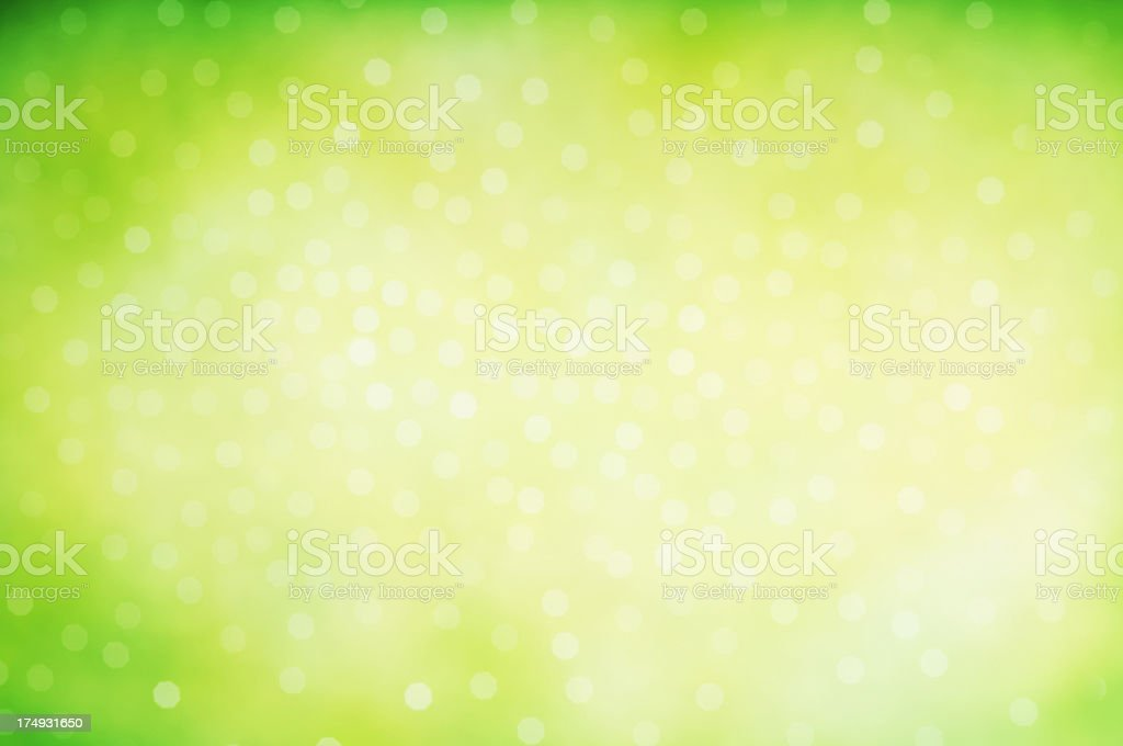 Sfondo Sfocato Verde Acido Scintilla Fotografie Stock E Altre