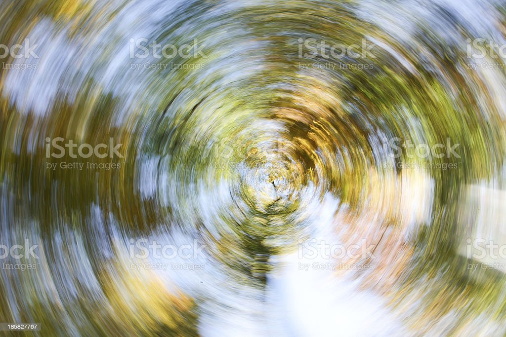 Blurred Autumn Leaves stock photo