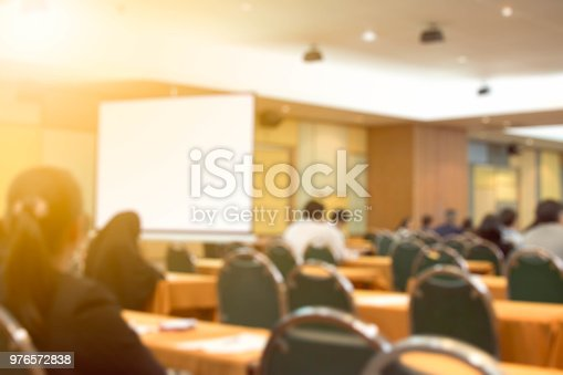 478810450 istock photo Blurred background business Meeting Conference Training Learning Coaching Concept. 976572838