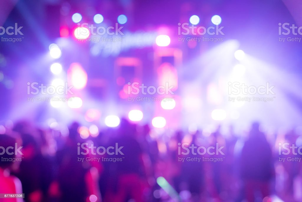 Blurred background  Concert royalty-free stock photo