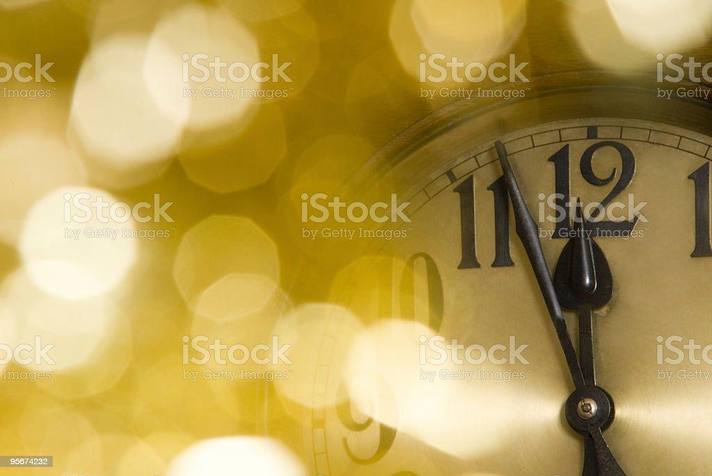 Uhr - Lizenzfrei Farbbild Stock-Foto