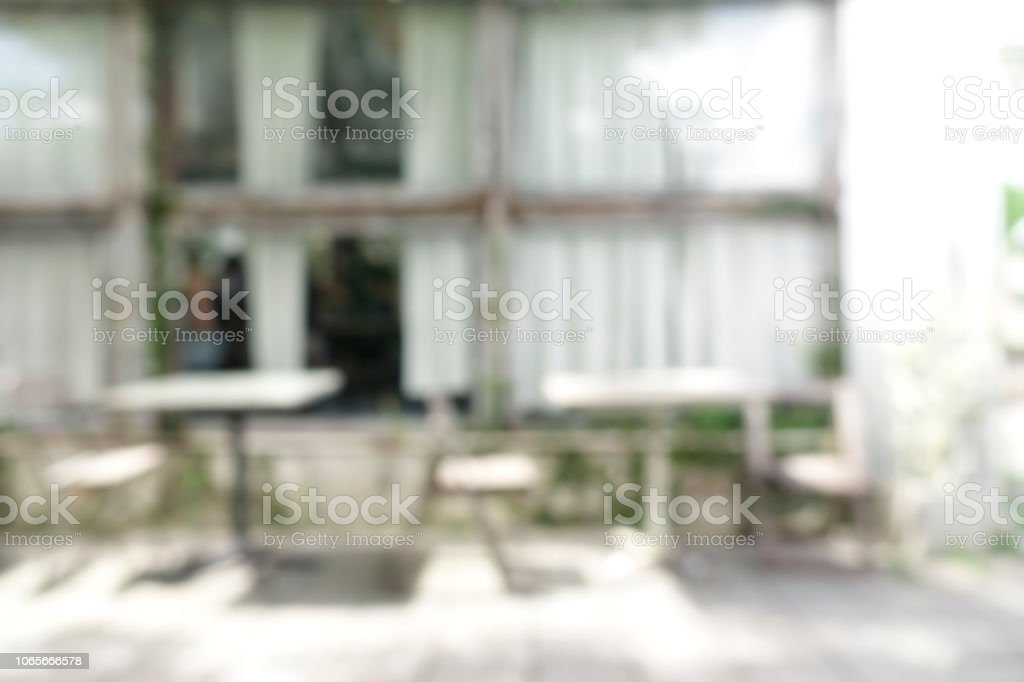 Blurred Background Of Interior Coffee Shop Or Cafe Restaurant With Glass Windows Light For Montage Product Display Or Design Key Visual Layout Stock Photo Download Image Now Istock