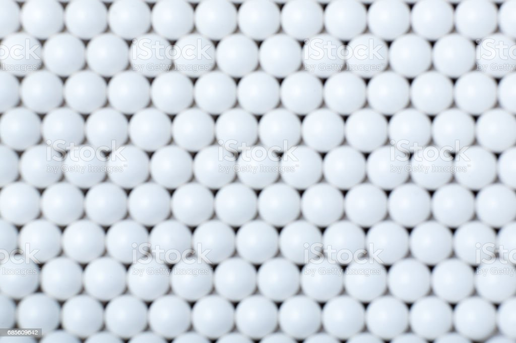 blurred background of white balls. airsoft 6mm foto de stock royalty-free